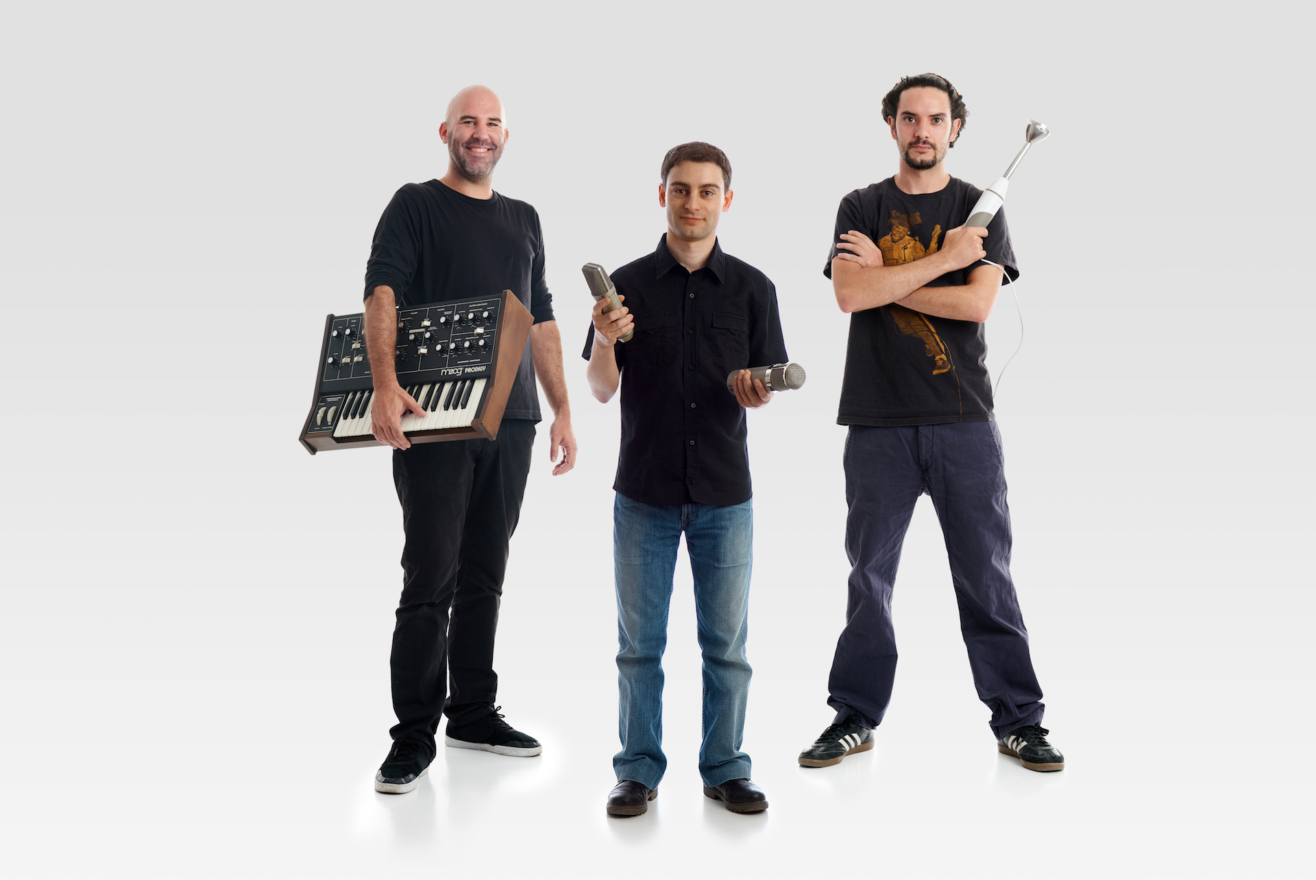 Jordi, Lluís and Javi - Technical Department